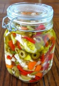 Giardiniera (Pickled Vegetables)....joe's contribution!
