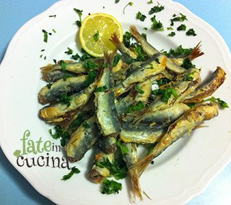 Sardine infarinate al forno -