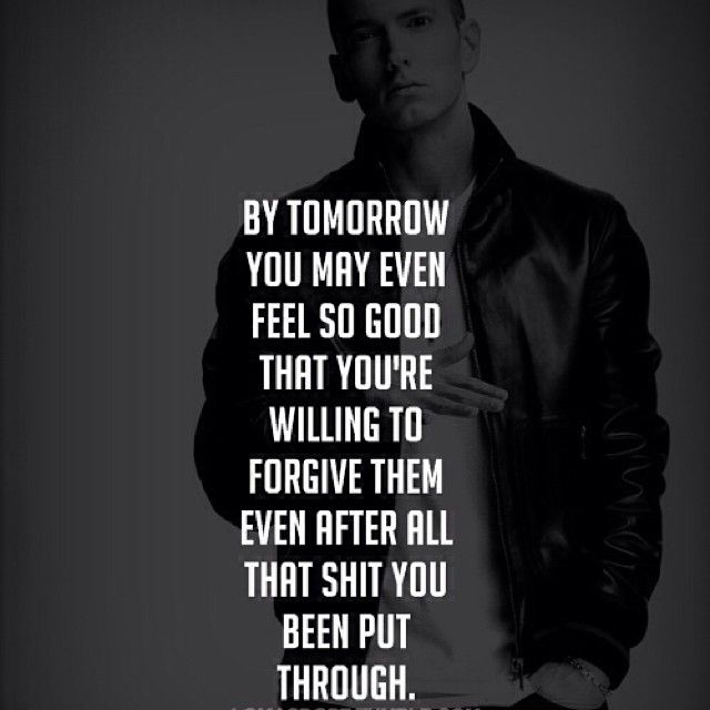 Beautiful Pain- Eminem. Love this song