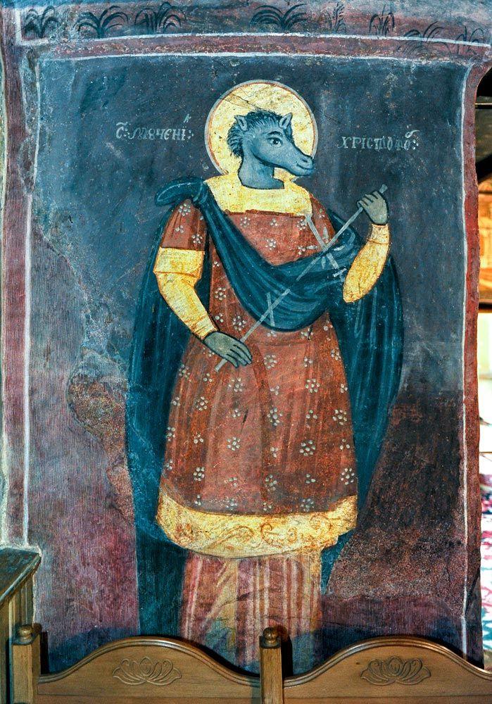St. Christopher, Romania