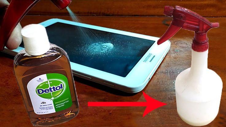 Homemade dettol disinfectant spray home sanitizer spray