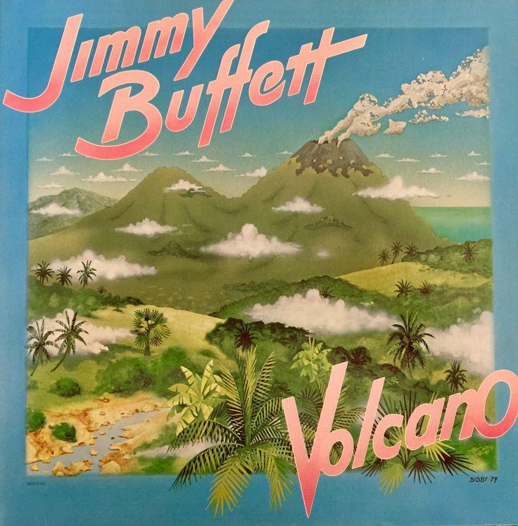 Jimmy Buffett Volcano 1979 Vinyl LP Record Album