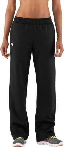 Women's Armour® Fleece Team Pants Bottoms by Under Armour Medium Black by Under Armour. $45.95. Ideal for team sports, with logo placement and colors specifically made to add team pride to UA performance. Comfy!