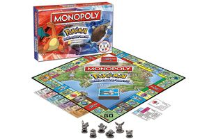 Massive collection of all the best Monopoly board games for geeks based on anime, cartoons, sci-fi TV shows and movies! Which one do you want?: Pokemon Kanto Edition Monopoly Board Game