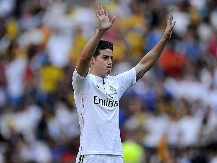 James Rodriguez Real Madrid Mercato