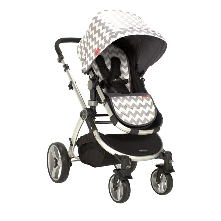 Redsbaby Bounce - The Utlimate All-In-One Stroller/ Pram www.redsbaby.com.au We love the Silver Dusk chevron stroller, it is one of our favourites! A little bit of pop, while still being sophisticated and modern.