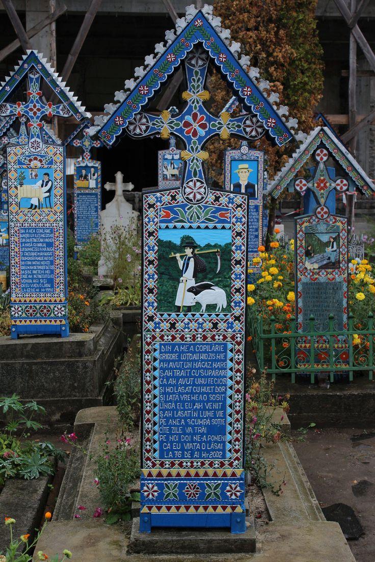 https://flic.kr/p/dB3U2e | #114 - Cimitirul Vesel (Merry Cemetary - Săpânţa, Maramures, Romania