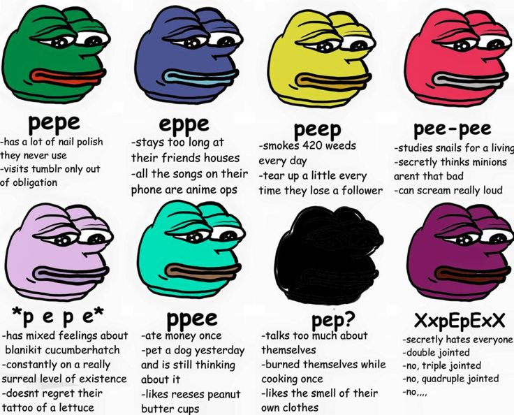 Not Sure But The Second Part Of Pee Pee Is Me