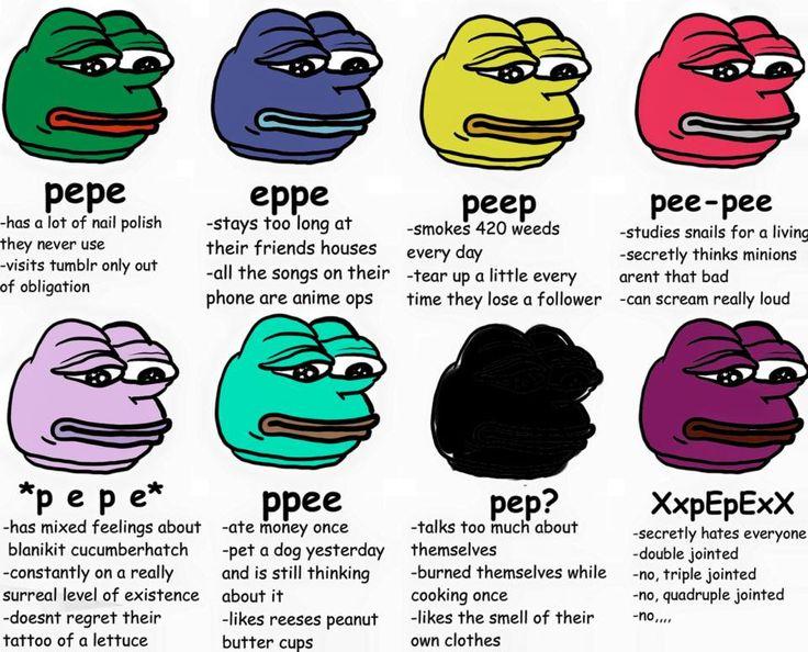 pep? *p e p e* and ppee