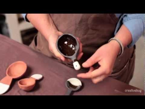 How to make Ceramic Spoons with Diana Fayt on Creativebug
