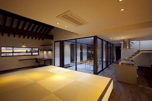 回廊の家(建築家:石村聖一郎) 作品:WORKS ASJ金沢スタジオ 建築家によるデザインクオリティの高い住宅を実現