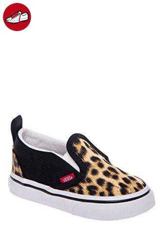 Vans, Jungen Sneaker , - Schwarz / Leopardenmuster - Größe: 24,5 (*Partner-Link)