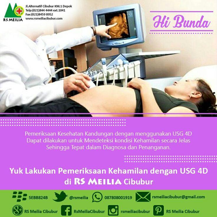 Pemeriksaan #kehamilan #kandungan #usg4d #layanan #sehat #dokter #rsmeilia #cibubur #depok #cileungsi #bekasi #bogor #tangerang #jakarta
