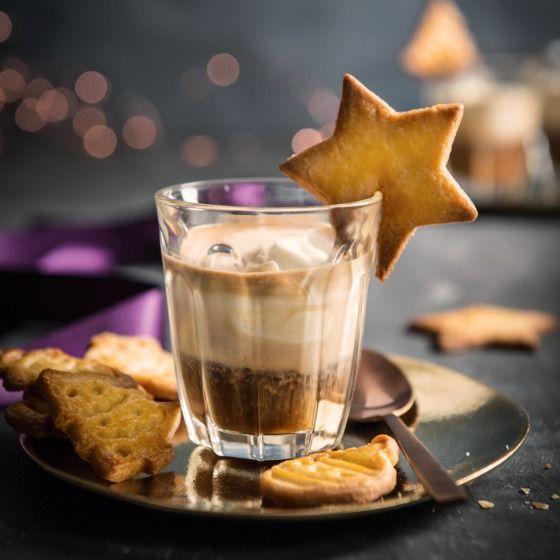 Helemaal kerst: espresso met vanillemascarpone