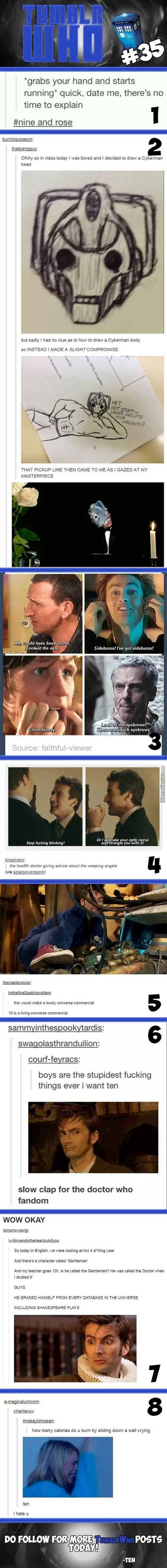 Welcome to the fandom of feels help the cause buy dotnating $1 towards killing our dictator Moffat plz enjoy your stay