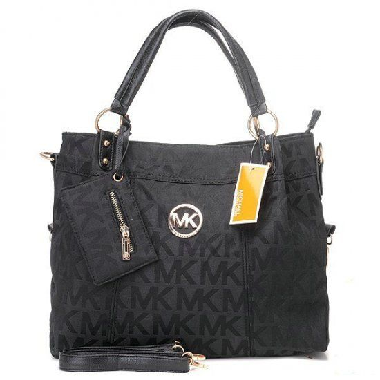 2012 Michael Kors Classic Tote Black Sale. Handbags ...