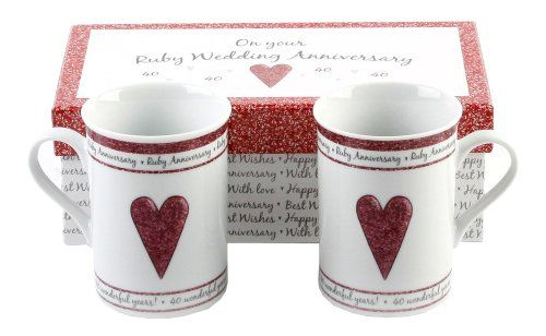 Ruby Wedding Gift Ideas: 17 Best Ideas About Ruby Wedding Anniversary Gifts On