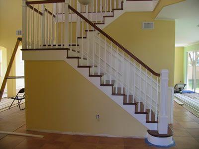 Types of stair railings - wood stair manufacturers