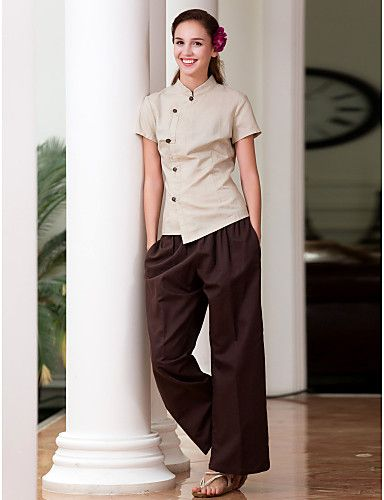 17 best images about on pinterest hotel uniform for Uniform design for spa