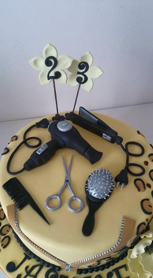 hairdresser cake, torta per parrucchiera
