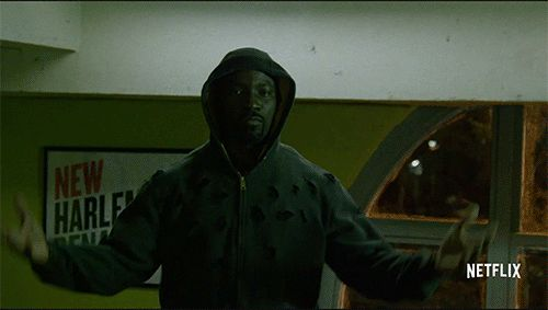 Now that we have that Netflix trailer, let loose the Luke Cage gifs.
