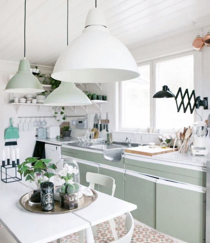 Pastel Country Kitchen Kitchens Pinterest Best Country Kitchens And Large Pendant