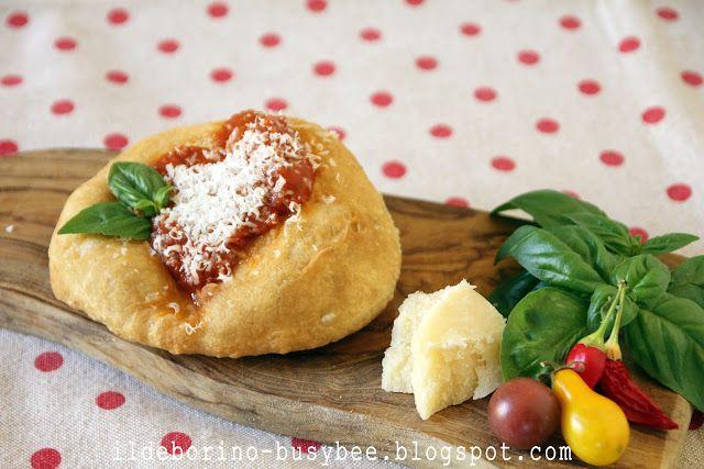Le Pizzelle or Fried Mini Pizzas