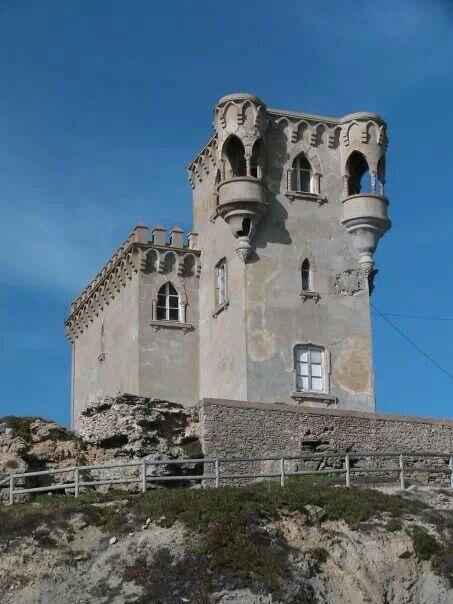 Castillo de Santa Catalina en Tarifa, Cadiz, España