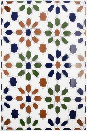 Cordoba Decorated Field Tiles