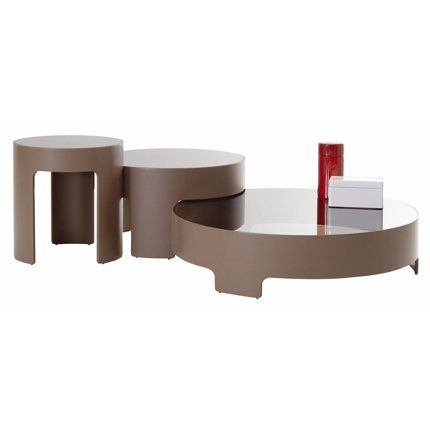 Tables basses cuba libre roche bobois tables for Table basse retro design
