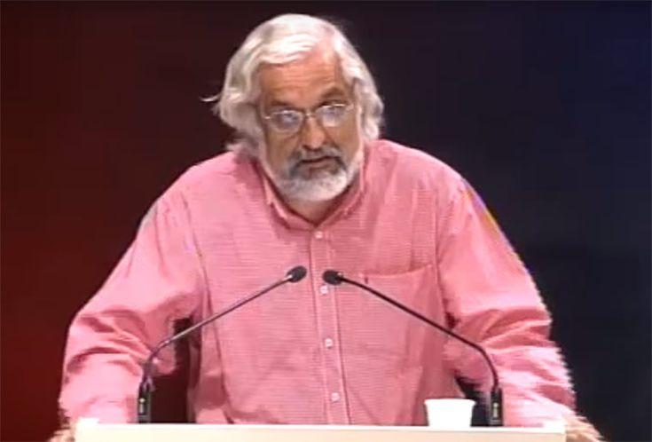 Γιώργος Κεντρωτής, μιλάει για τον Μπρεχτ στην Μάγδα Παπαδημητρίου-Σαμοθράκη