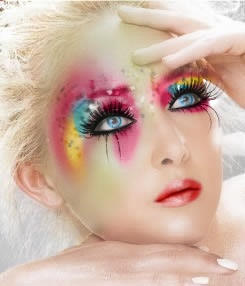 I LOVE me some fab FANTASY makeup!