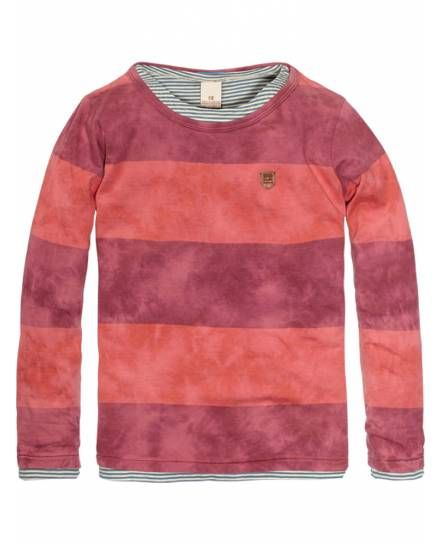 Double Layer Colourful Striped Tee > Kids Clothing > Boys > T-shirts at  Scotch. Scotch ShrunkScotch SodaFashion ...