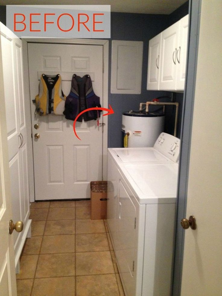 1000 Ideas About Hide Water Heater On Pinterest Laundry