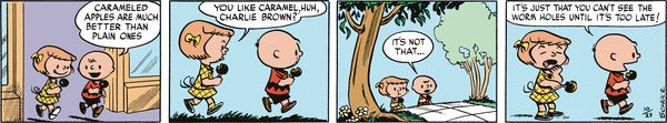 Peanuts Begins Comic Strip, January 26, 2016     on GoComics.com