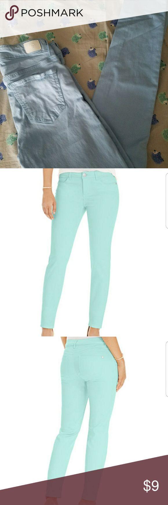 Baby blue 0/24 pants Super soft baby blue 0/24 celebrity pink pants Celebrity Pink Pants Skinny