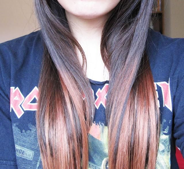 25 best hair extensions images on pinterest human hair faking the ombre trend with ik dip dye hair extensions pmusecretfo Images