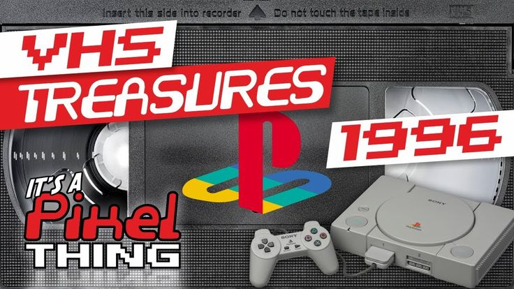 """""""Latest PLAYSTATION NOVELTIES from 1996"""" promotional VHS 