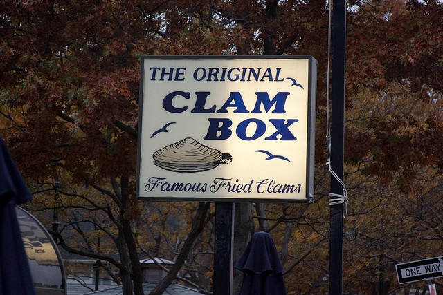 Clam Box....Quincy / Wollaston Beach