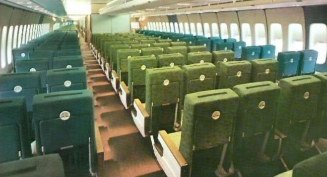 Aer Lingus 747 Aircraft Interiors Vintage Airlines Boeing Aircraft