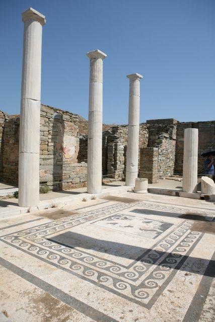The Island of Delos, Greece