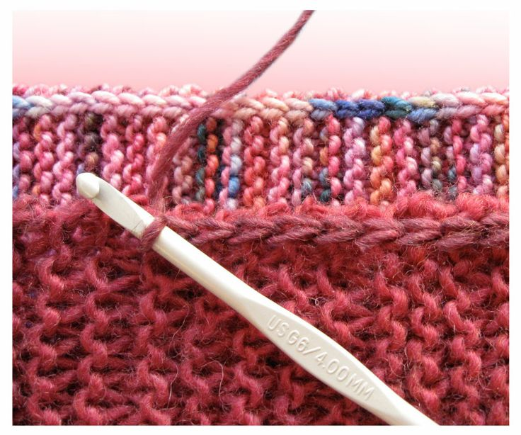 TECHknitting: A neat little edging for garter stitch--I'm going to try this to keep knitted edge from curling