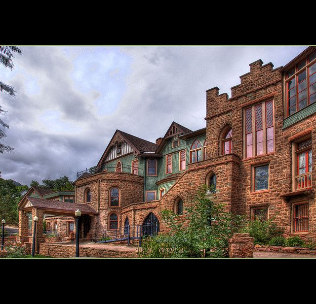 Most Haunted Places In Colorado Springs: 36 Best Miramont Castle Museum Images On Pinterest