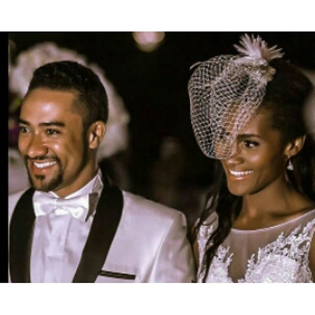Congratulations to Michael Majid and wife on their 10th anniversary!  Still can't believe he's married (and has been for 10 years) Photo via @ghanawedding101  #tears #weddings #weddinganniversary #idonigeria