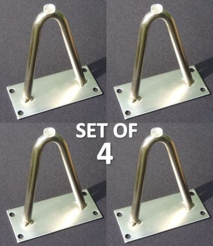 New Set of Four 4 Hairpin Furniture Legs 4"