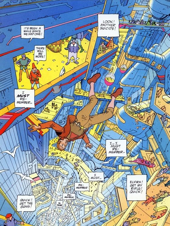The Incal by Alejandro Jodorowsky and Moebius