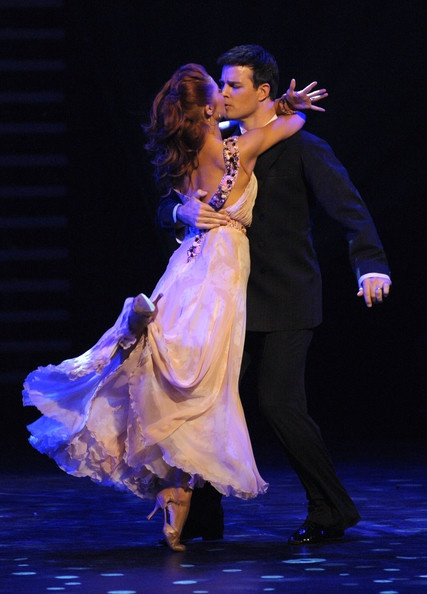 Jonathan Roberts and Anna Trebunskaya - If I were ever on DWTS, Jonathan is the one I'd want for my Professional Partner