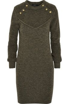 Isabel Marant Shirley wool sweater dress | THE OUTNET