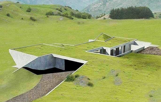 Kinghm Architecture Hvac D Adli Kullanicinin Underground House Design Panosundaki Pin Bina Mimari Kurak
