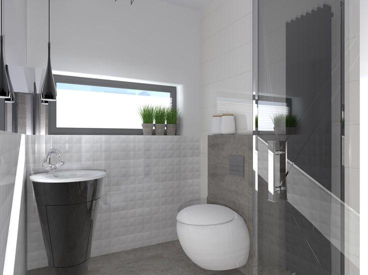 Mała łazienka - zdjęcie od 2kprojekt - Łazienka - Styl Nowoczesny - 2kprojekt